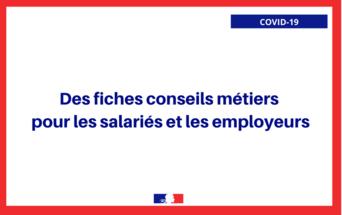 COVID-19 Fiches métiers Restauration Hôtellerie Commerce de détail Agroalimentaire